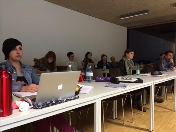Studenten der FH Kufstein bei mir in der SEO Vorlesung